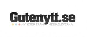 Texten Gutenytt - nyheter från medieeleverna.
